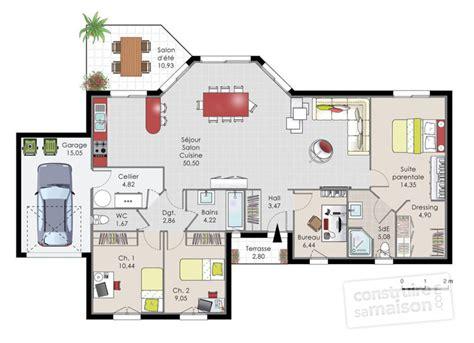 plan maison plain pied 3 chambres 1 bureau plan maison 3 chambres 1 bureau une question with plan