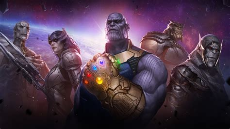 Marvel Future Fight Thanos Childrens, Hd Games, 4k Wallpapers, Images, Backgrounds, Photos And