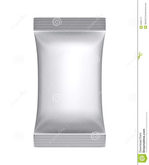 clean laminate sachet bag package royalty free stock photography image