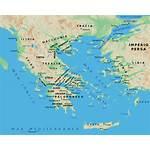 Mapa Grecia Antigua Clasica Roma Desde Geografico
