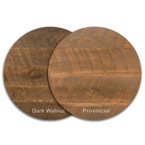 "30"" Round Urban Distressed Wood Table Top Bar"