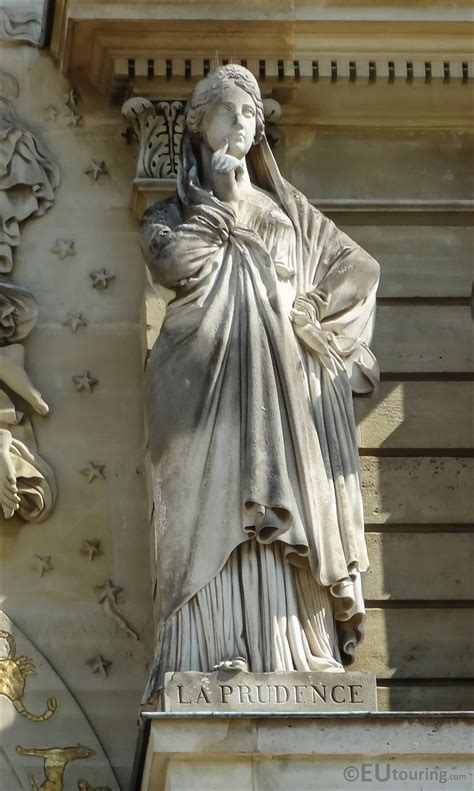 Photos Of La Prudence Statue On Palais Du Luxembourg