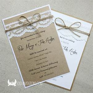 Lace wedding invitations australia rustic lace wedding for Rustic lace wedding invitations australia