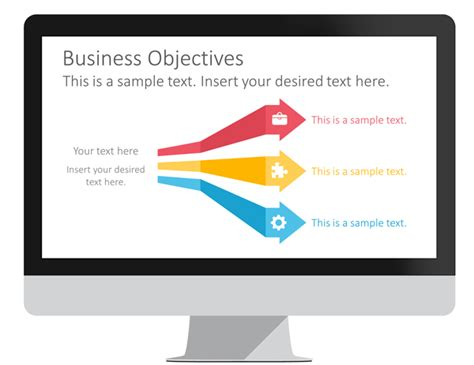 arrows  ribbons infographics presentationdeckcom