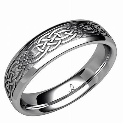 Celtic Knot Band Rybaltchenko Ring Weddingring C2