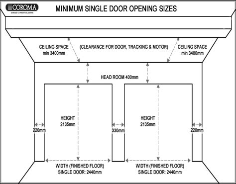 Garage Doors Sizes And Prices by Overhead Garage Door Sizes Garage Doors Repair