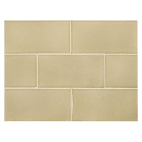ceramic subway tile vermeere ceramic tile dk taupe gloss 3 quot x 6 quot subway tile