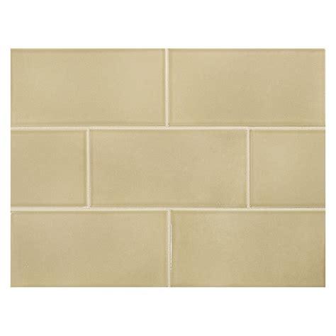 "Vermeere Ceramic Tile  Dk Taupe Gloss  3"" X 6"" Subway Tile"