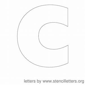 resume format letter c stencil With 12 inch letter stencils