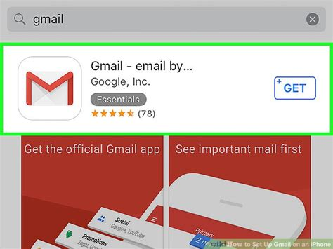 how to set up gmail on iphone how to set up gmail on an iphone with pictures wikihow
