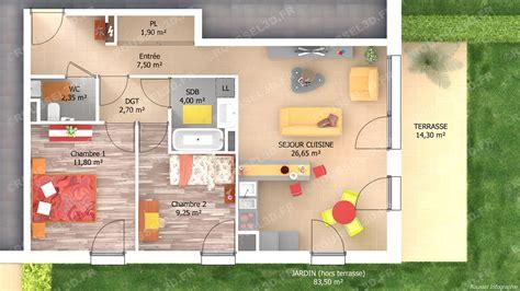 projet d animation cuisine infographie 3d pour les constructeurs de maisons