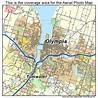 Aerial Photography Map of Olympia, WA Washington