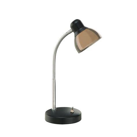 office depot led desk ls illumine 24 5 in black desk l cli ls440185 the home