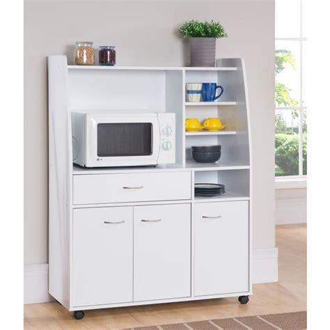 meuble de rangement pour cuisine kitchen desserte de cuisine 100cm blanc mat achat