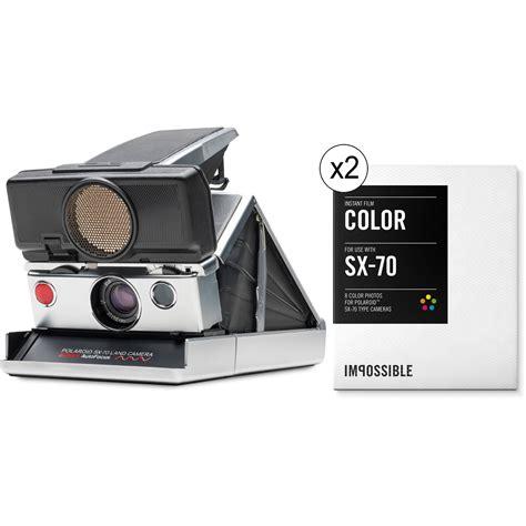 impossible polaroid impossible polaroid sx 70 sonar instant kit