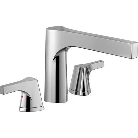 bathtub trim kit delta zura 2 handle deck mount tub faucet trim kit