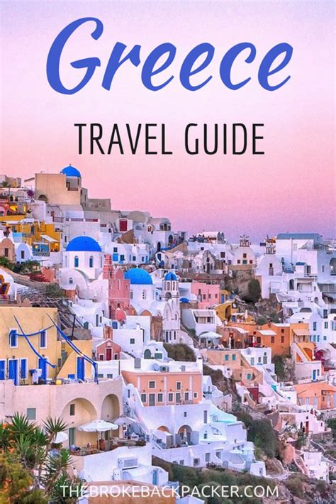 Backpacking Greece Budget Guide Greek Island Hopping