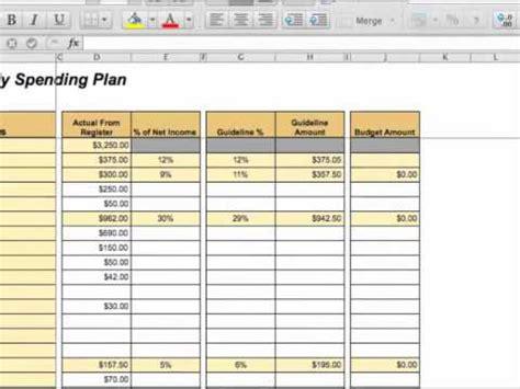 zero based budgeting template creating a zero based budget