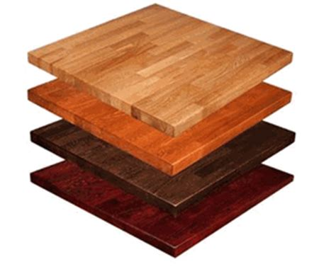Solid Wood Butcherblock Table Tops  Butcher Block
