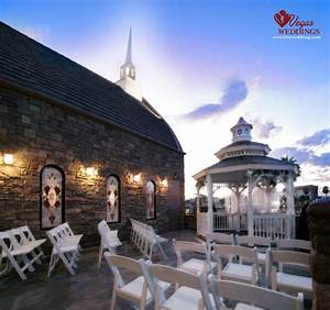 the terrace outdoor venue at vegas weddings seats 40 With vegas wedding chapel packages