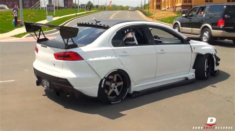 Modified Mitsubishi Lancer Evo X // Panda Junction
