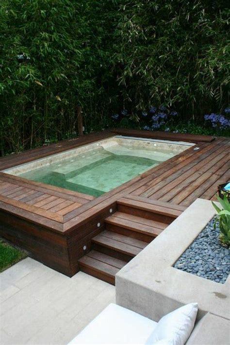 decoration piscine hors sol 25 best ideas about piscine bois on mini piscine bois mini piscine and mini