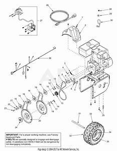 Mtd 31bh5c3f401  2003  Parts Diagram For Engine  U0026 Belts