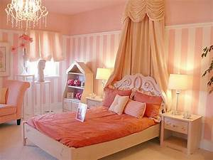 Girls Room Paint Ideas: Colorful Stripes or A Beautiful