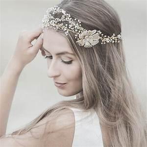 Wedding Hair Accessories Swarovski Bridal Headband Gold