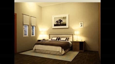 3d interior master bed room design animation 3ds max wmv