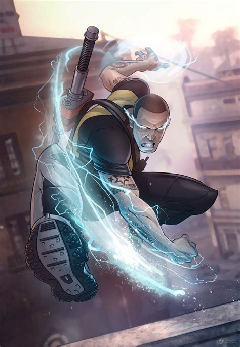 The Jason Zone Cool Infamous 2 Cartoon