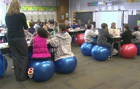 Exercise Chairs For Classroom by The Benefits Of Swapping Exercise Balls For Desk Chairs
