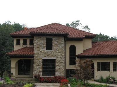 Decra Villa Tile Rustico Clay by 17 Best Images About Metal Tile Roofs On Pinterest