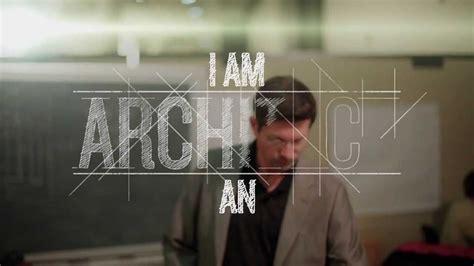 an architect i am an architect youtube