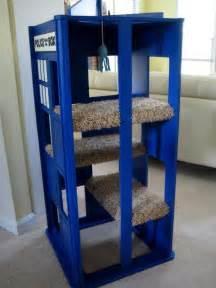 TARDIS Cat Tower