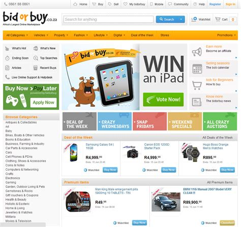 Bid Or Bay Sa S Top Websites Then And Now