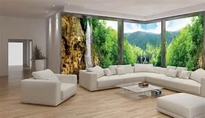 Wohnzimmergestaltung Mit Tapeten : fototapete wohnzimmer 3d ~ Sanjose-hotels-ca.com Haus und Dekorationen