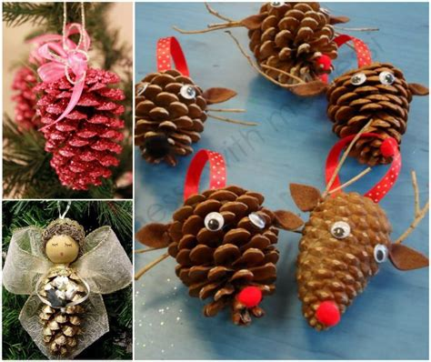 11 best photos of diy pine cone christmas ornaments diy