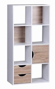 Bücherregal Weiß Holz : finebuy design b cherregal modern holz wei mit t ren sonoma eiche ablagef cher standregal ~ Indierocktalk.com Haus und Dekorationen
