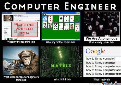 Network Engineer Meme - computer engineer by fahd0321 meme center