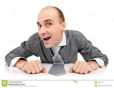 Young Funny Man Royalty Free Stock Photography