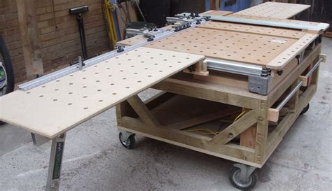 mft front  table extension flush guide rail
