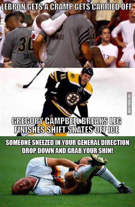 Soccer Hockey Meme - hockey vs basketball vs soccer 9gag