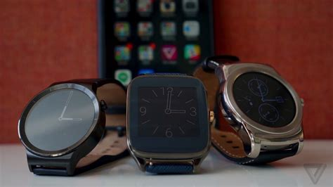 smartwatches for iphone android wear smartwatches come to the iphone the verge