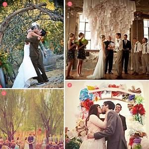 Finishing touches unique wedding altars exquisite weddings for Unique wedding videos
