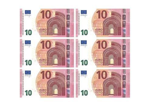 Der 10er ist überwiegend in hellem rot. Euroscheine Pdf : Spielgeld Zum Ausdrucken Download Freeware De - mysimpleconfession-wall
