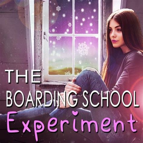 young adult romance cover  boarding school experiment