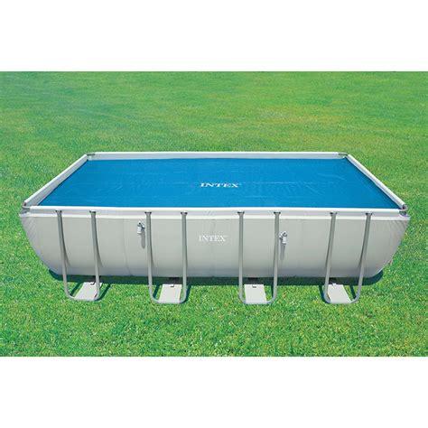 bache piscine rectangulaire b 226 che 224 bulles pour piscine intex rectangulaire intex