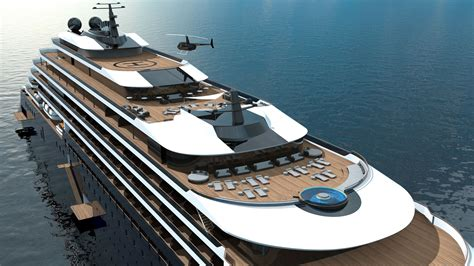 Yacht Cruises by See The Stunning New Ritz Carlton Yacht It S An Anti