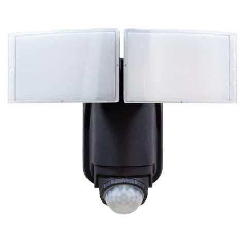 defiant led security light defiant 180 black solar powered motion led security light
